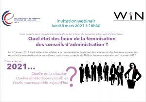 Les CCE se penchent sur la féminisation des conseils d'administration en France